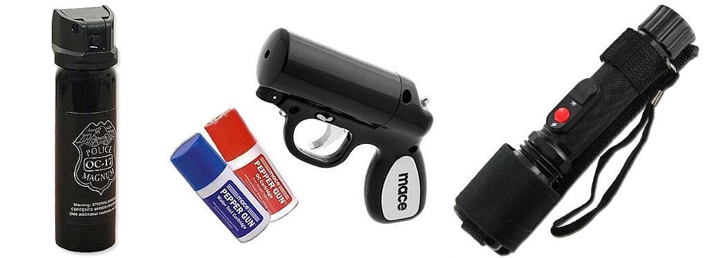 ציוד חוקי להגנה עצמית