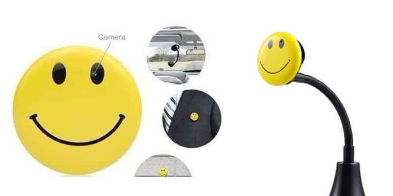 מצלמת כפתור סמיילי